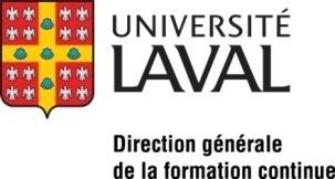 Unioversité Laval - Direction générale de la formation continue